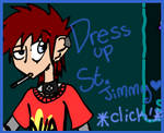 St. Jimmy Dress Up Game