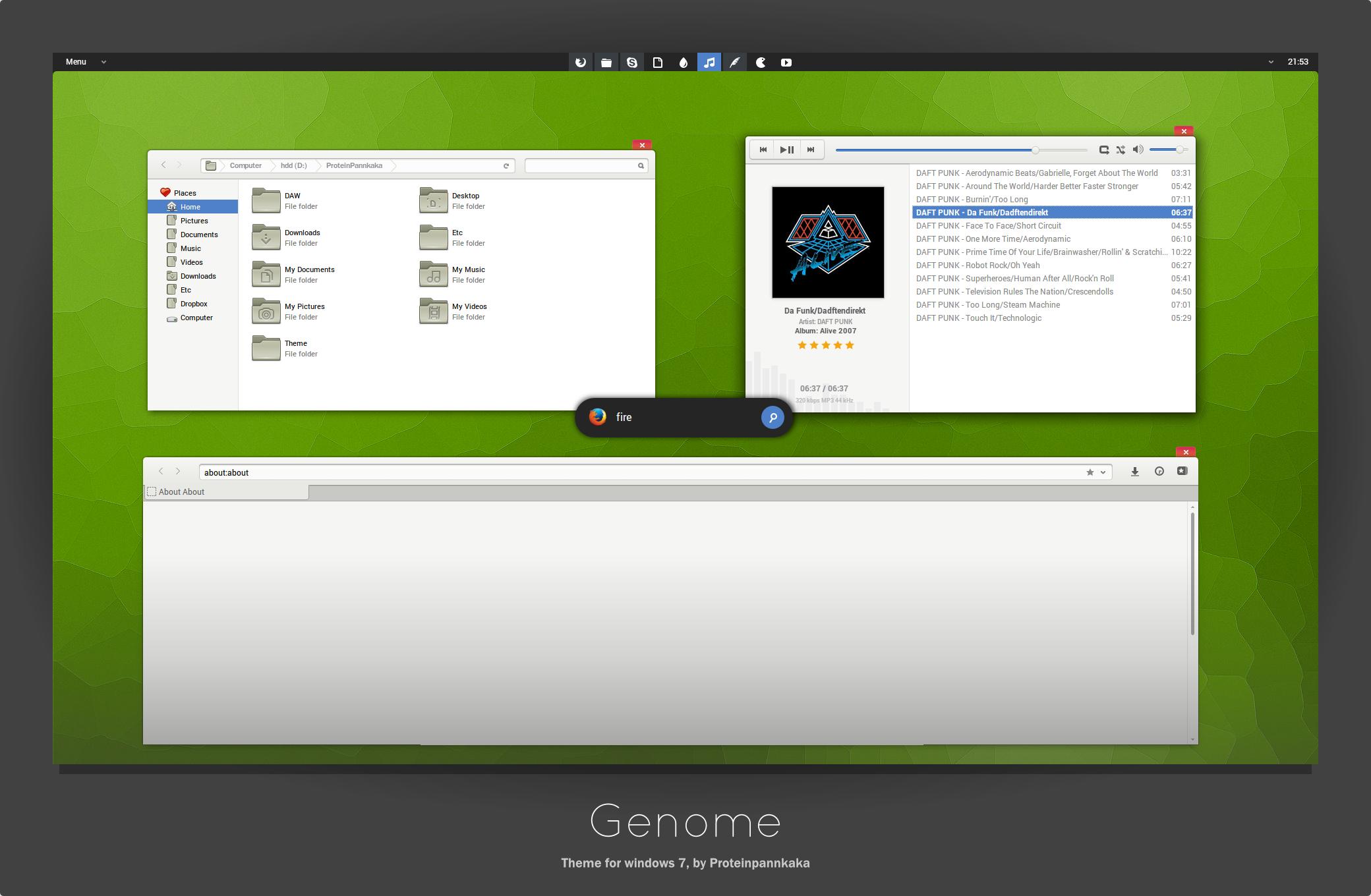 Genome by ProteinPannkaka