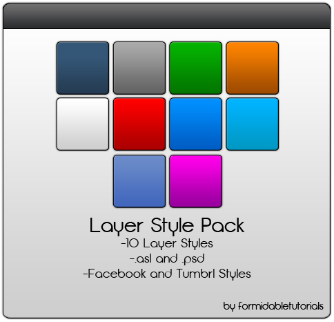 Photoshop Layer Style Pack 1