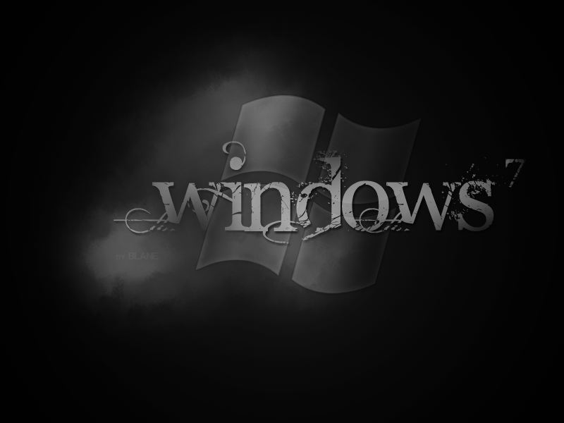 Vista Black Wallpapers. windows lack wallpaper.