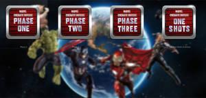 Marvel Phases Folder Icons