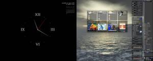 Autarkis dual monitor Samurize