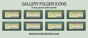 Matte Gallery Folders