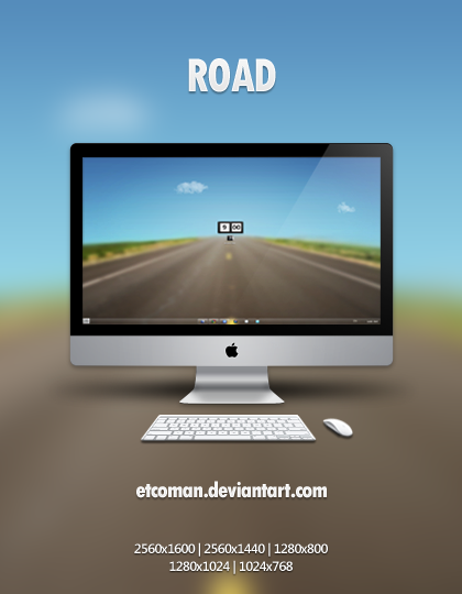 ROAD by etcoman