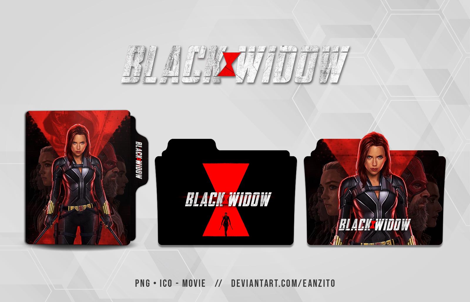 Black Widow Folder Icon By Eanzito On Deviantart