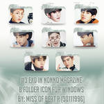 #3 EXO in Nonno Magazine Folder Icon Pack by 30111996