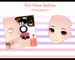 TDA Face Texture + Download! //MMD by KyoukiIkki