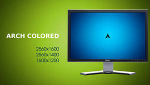 Colored Arch Linux