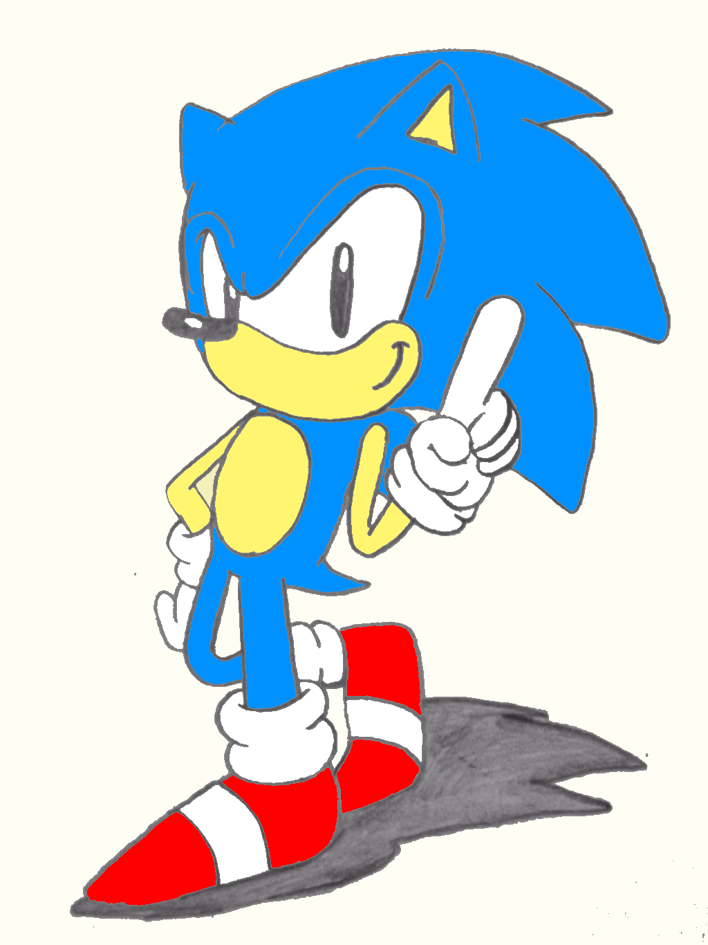 Sonic The Hedgehog 16 Bit Cartridge By Modernsonic1223 On Deviantart