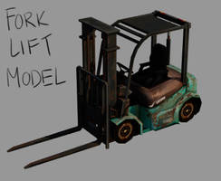 Low Poly Forklift by TastesLikeAnya