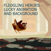 Fledgling Heroes - Lucky the Quail by TastesLikeAnya