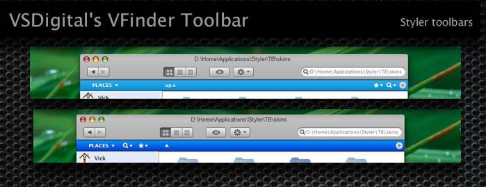 VFinder Pack - Styler Toolbar by vsdigital
