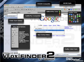VFoxFINDER2 Firefox Skin by vsdigital
