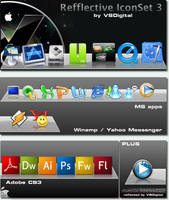 Leopard Refflective IconSet 3 by vsdigital