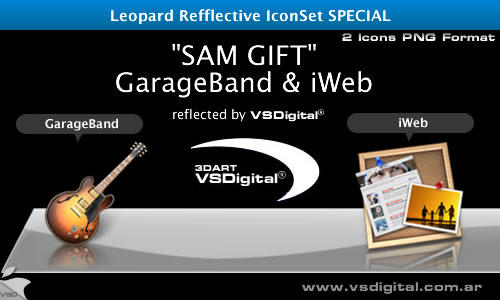 Refflective GarageBand - iWeb by vsdigital