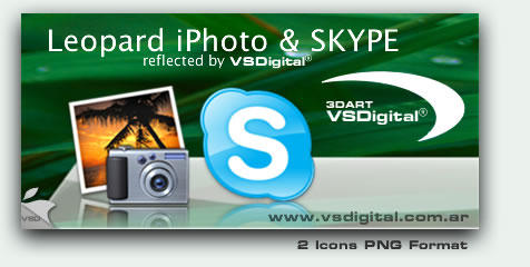 Refflective iPhoto - Skype by vsdigital