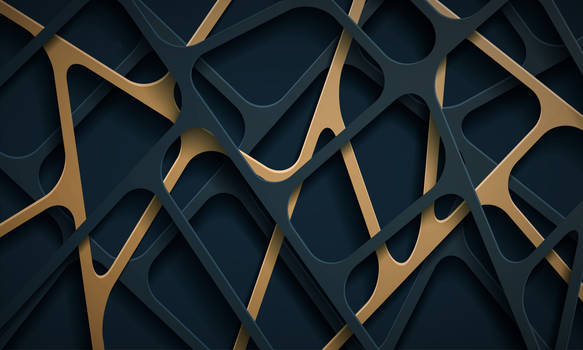 Paper Cut Shapes Abstract Background - Version II