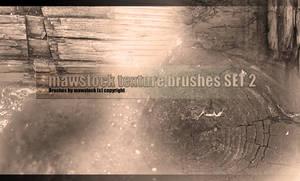 Mawstock Texture Brushes Set 2