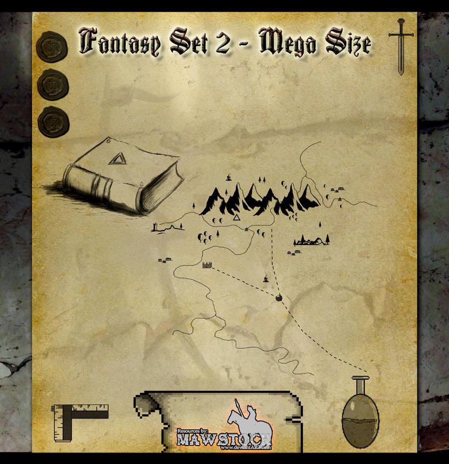 Fantasy Set 2 Mega Pack by mawstock