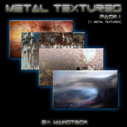 11 METAL TEXTURES PACK 1 by mawstock