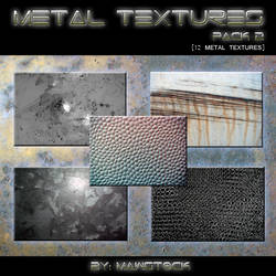 12 METAL TEXTURES - PACK 2 by mawstock
