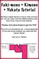 Tutorial:Draft a Kimono Patten by taeliac