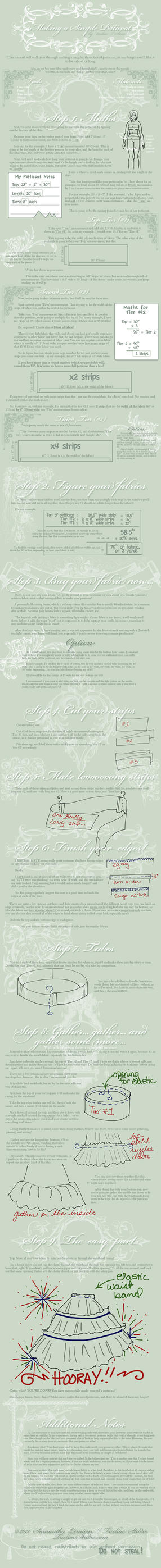 Tutorial: Making a Petticoat by taeliac