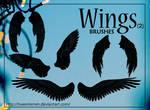 Brushes Wings (2) By.TweeSterren