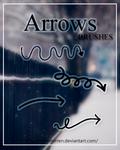 Brushes. Arrows By. TweeSterren