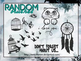 Random Brushes (5) By. TweeSterren by TweeSterren