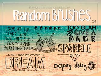 Random Brushes (4). By. TweeSterren by TweeSterren