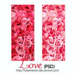 PSD. Love. By TweeSterren. by TweeSterren