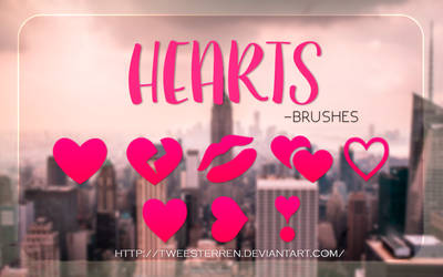 Hearts By TweeSterren by TweeSterren