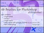 46 photoshop brushes