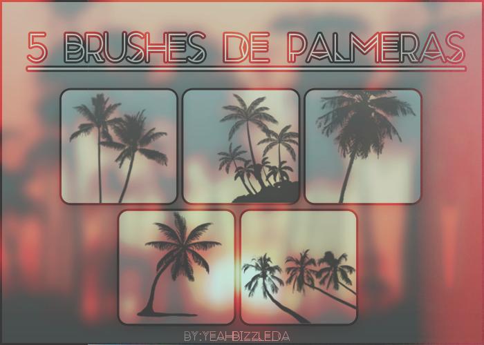 +Brushes De Palmeras