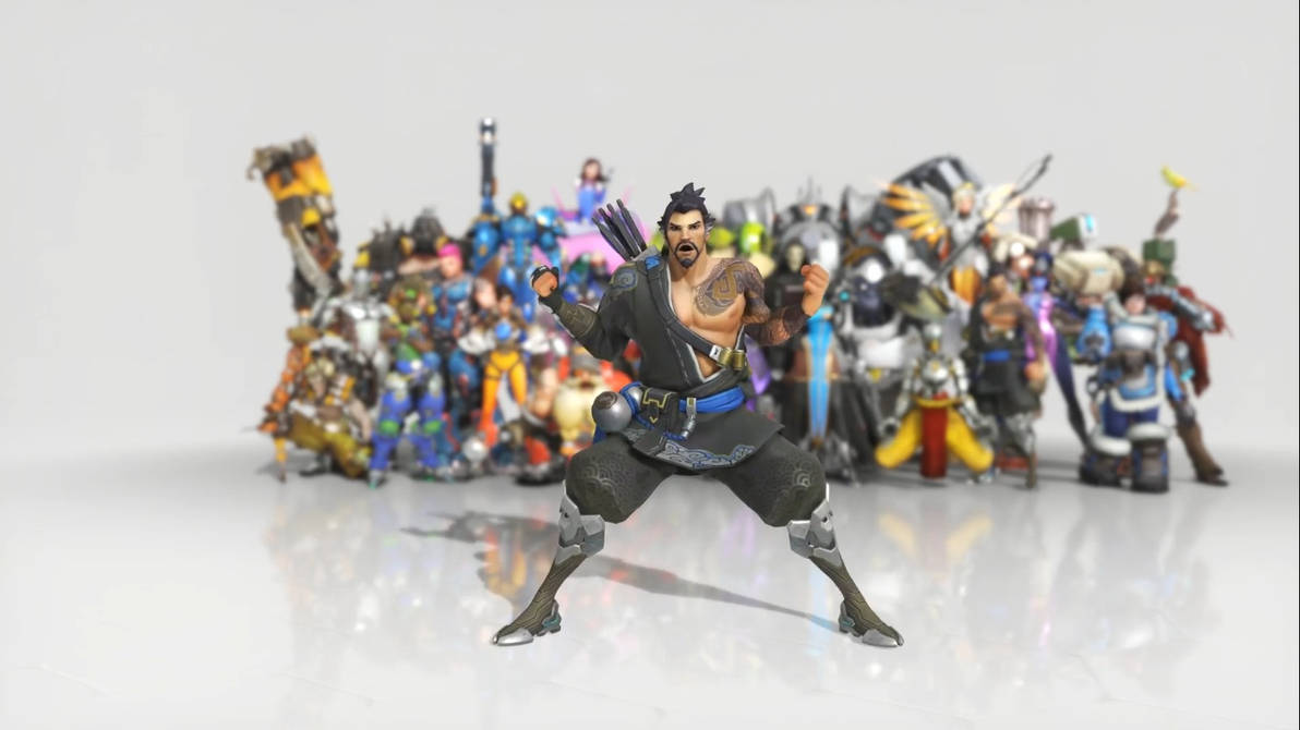 Overwatch Hanzo Dance Emote Live Wallpaper By Coolfireman On