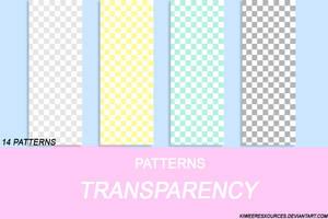 + TRANSPARENCY PATTERNS + by kiweeresxources