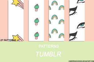 + PATTERNS TUMBLR + by kiweeresxources