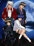 Inuyasha Doujinshi Main Cast Remastered