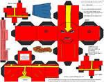 JLA 2: Red Tornado Cubee