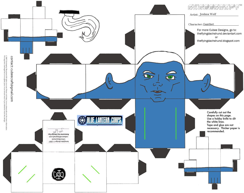 GL 9: Blue Leader Ganthet Cubee by TheFlyingDachshund