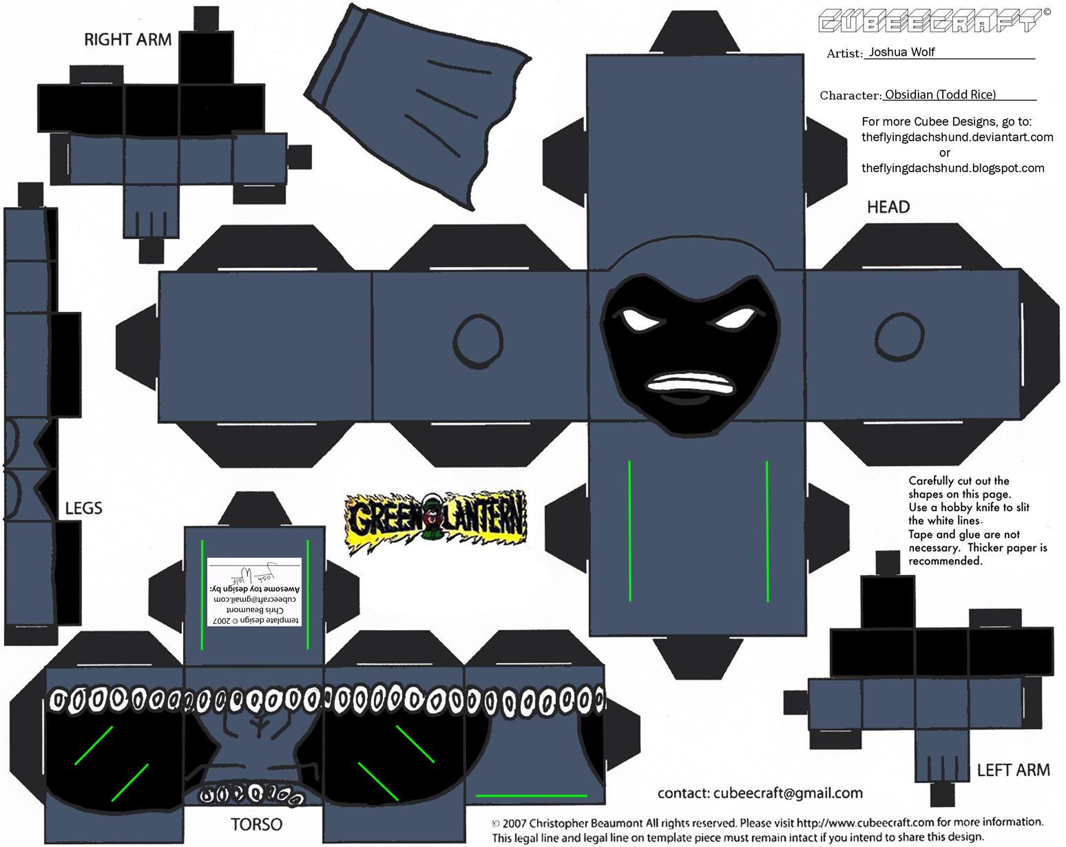 GL 10: Obsidian Cubee by TheFlyingDachshund