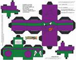 TMNT2: Screwloose Cubee by TheFlyingDachshund