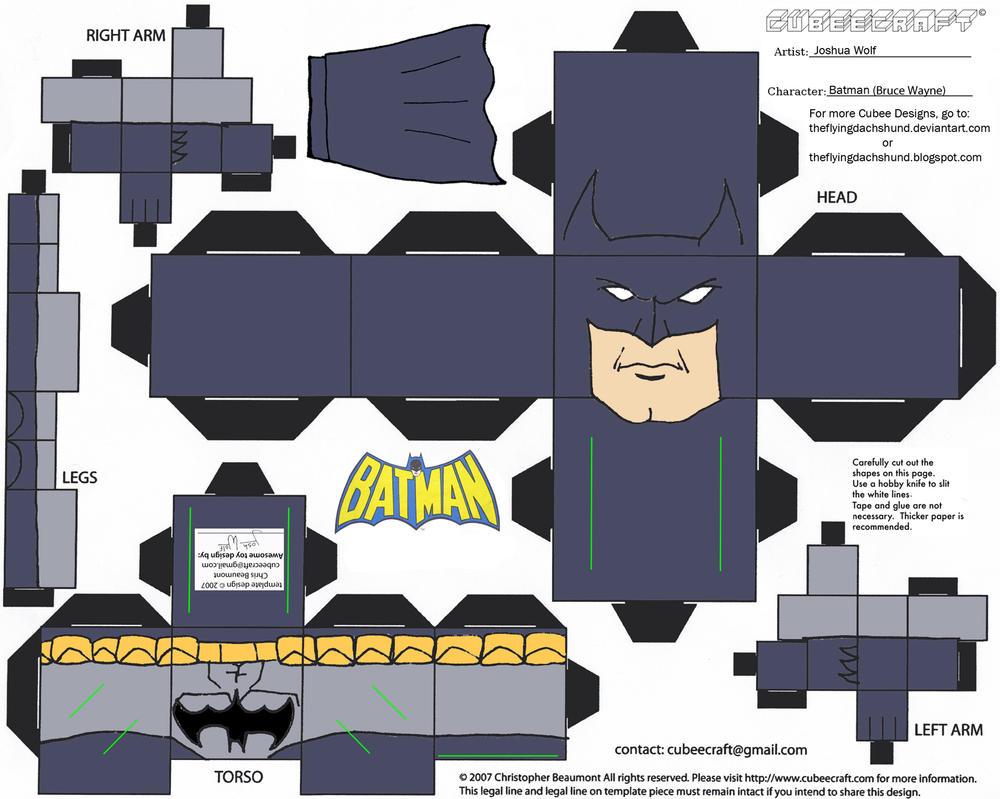 DC SH 1: Batman Cubee by TheFlyingDachshund