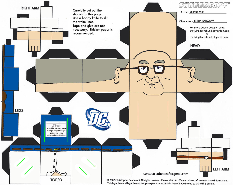 VIS1: Julius Schwartz Cubee by TheFlyingDachshund