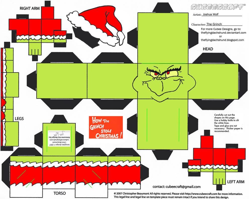 JC 2: The Grinch Cubee by TheFlyingDachshund