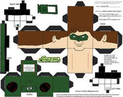 GL 1: Hal Jordan Cubee by TheFlyingDachshund