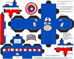 Marvel 1: Captain America Cubee