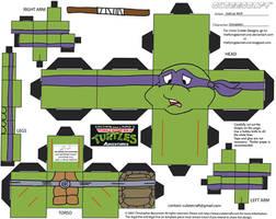 TMNT3: Donatello Cubee by TheFlyingDachshund