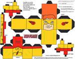 DC SH 9: Kid Flash Cubee